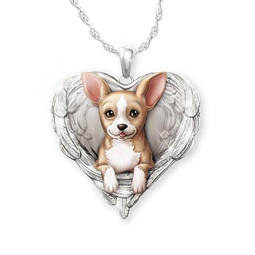 'Chihuahuas Are Angels' Pendant