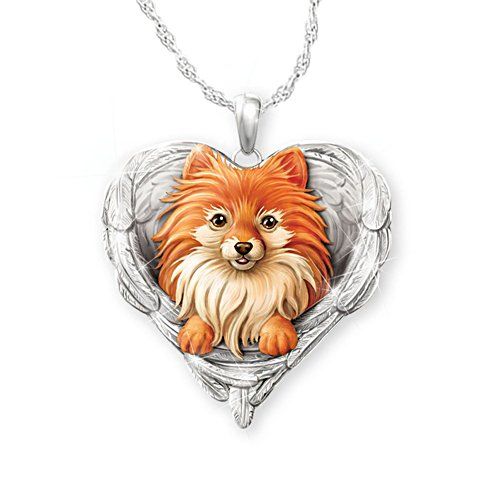 'Pomeranians Are Angels' Pendant