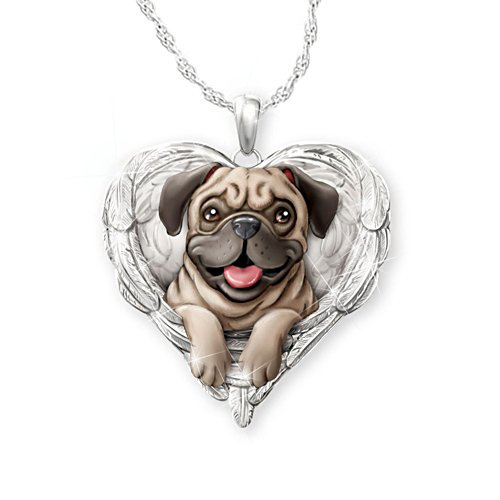'Pugs Are Angels' Pendant