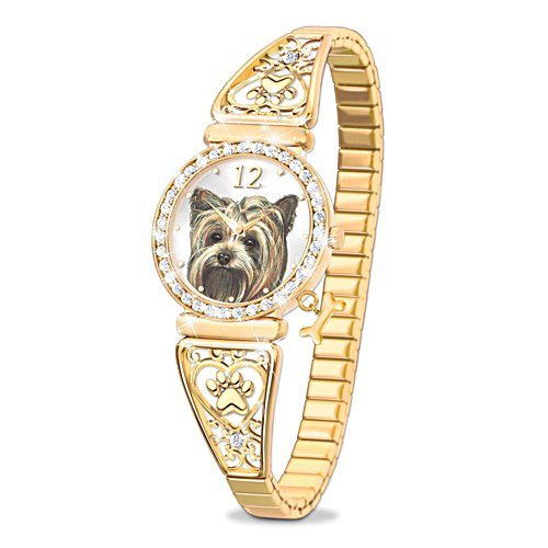 'Forever Faithful' Yorkie Ladies' Watch