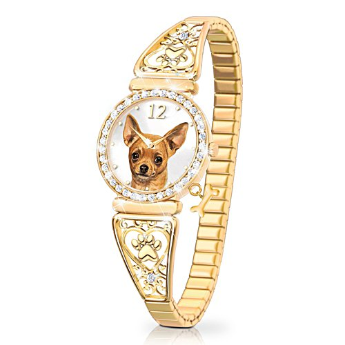 'Forever Faithful' Chihuahua Ladies' Watch