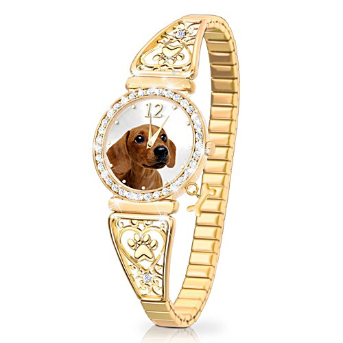 'Forever Faithful' Dachshund Ladies' Watch
