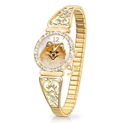 'Forever Faithful' Pomeranian Ladies' Watch