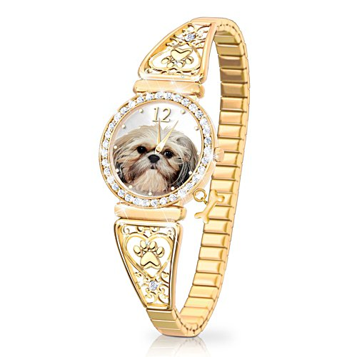 'Forever Faithful' Shih Tzu Ladies' Watch