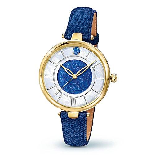 'Forever In Blue' Denim Ladies' Watch