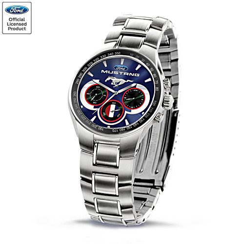 'Generations Of Pride' Ford Mustang Men's Chronograph Watch