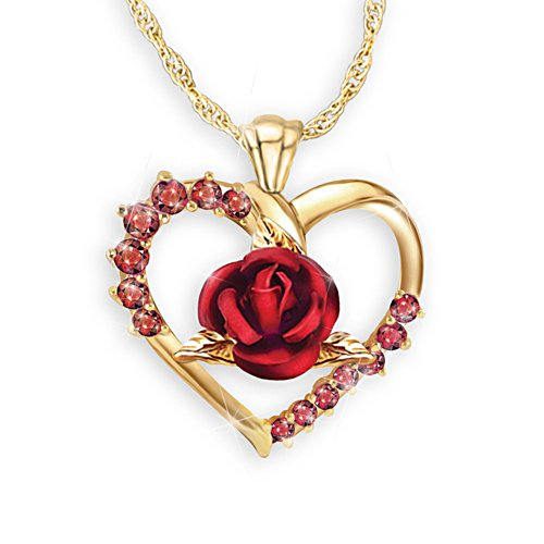 'Forever Yours' Ladies' Ruby Pendant