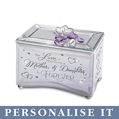'The Love Between A Mother & Daughter' Personalised Music Box