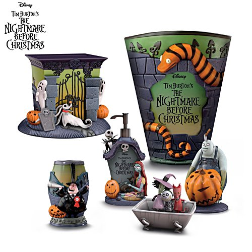 The Nightmare Before Christmas Bath Accessories – Choose Yours