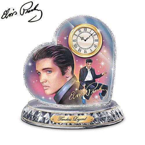 Elvis™ 'Timeless Legend' Clock