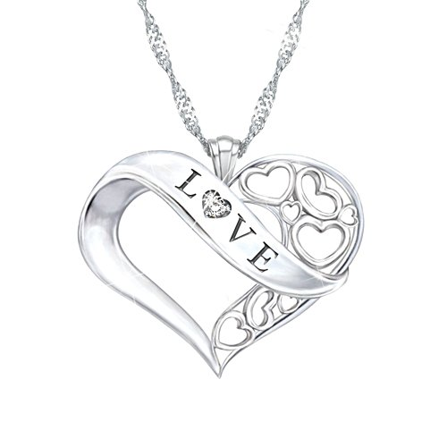'Love' Granddaughter Diamond Pendant