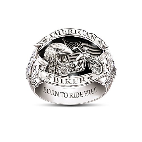 'American Biker' Men's Ring