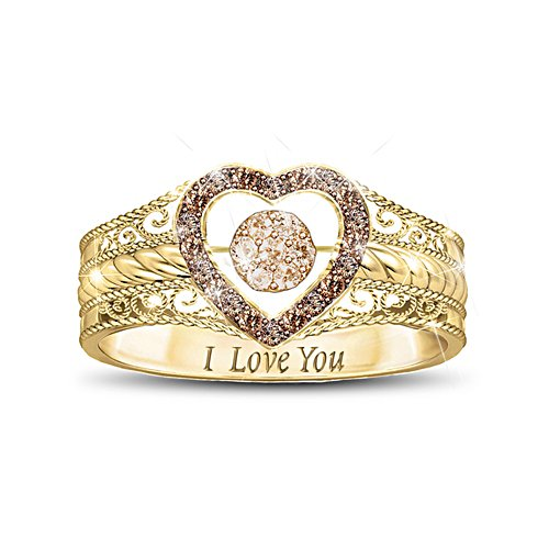 'Love Bubbles Over' Diamond Ring