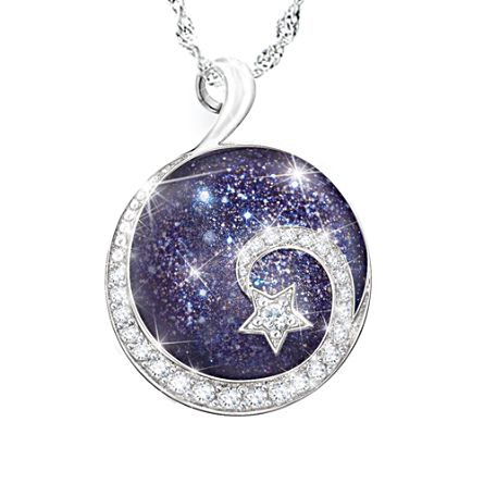 'Granddaughter Reach For The Stars' Ladies' Pendant