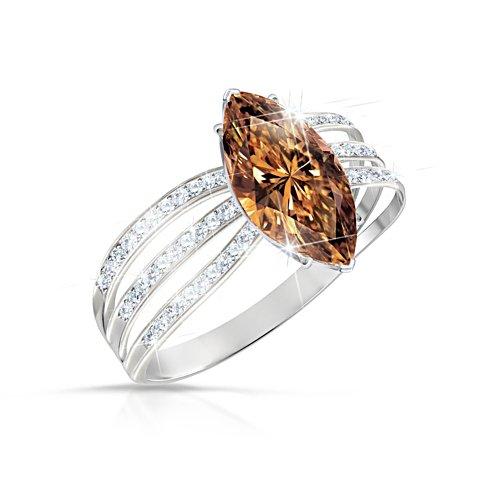 'Diva' Diamonesk® Ladies' Ring