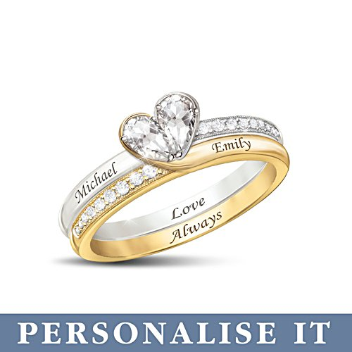'Love Always' Personalised Ring