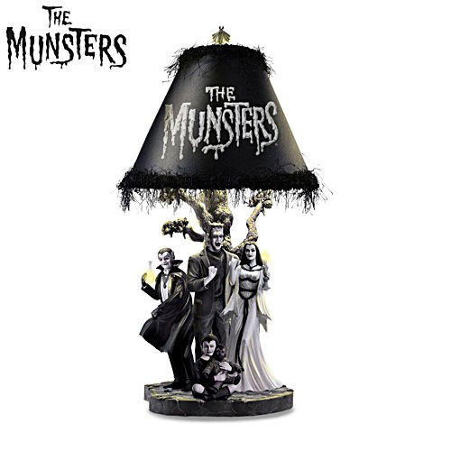 The Munsters® 'Ghastly Glow' Table Lamp