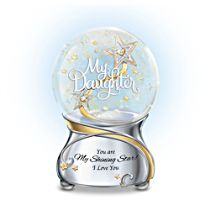 'My Daughter, You Are My Shining Star' Glitter Globe