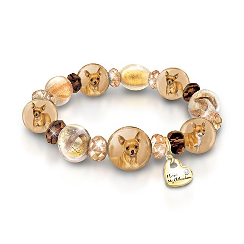 Reflections Of Love' Chihuahua Ladies' Bracelet