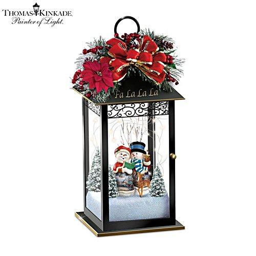 'Fa La La La' Lantern Table Centrepiece