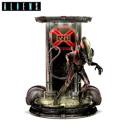 Aliens™ Xenomorph Digital Clock