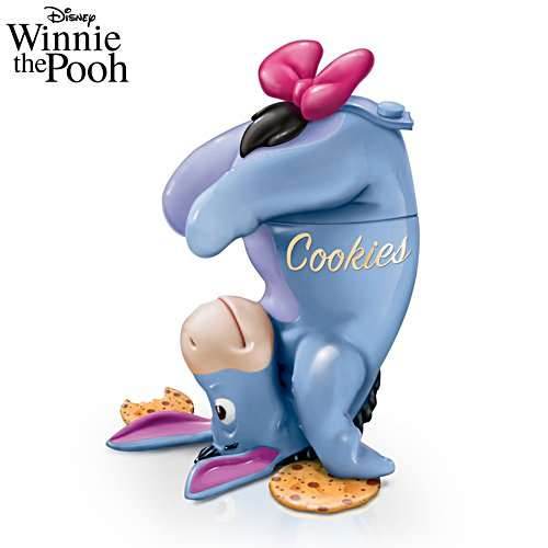 Disney Eeyore 'Some Days Are Better Upside Down' Cookie Jar
