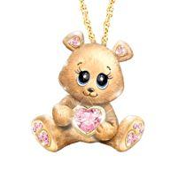 'So Beary Sweet' Granddaughter Ladies' Pendant