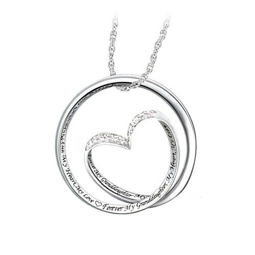 'Forever In My Heart' Diamond Pendant