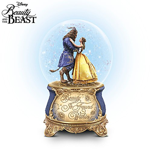 Disney 'Beauty And The Beast' Musical Glitter Globe