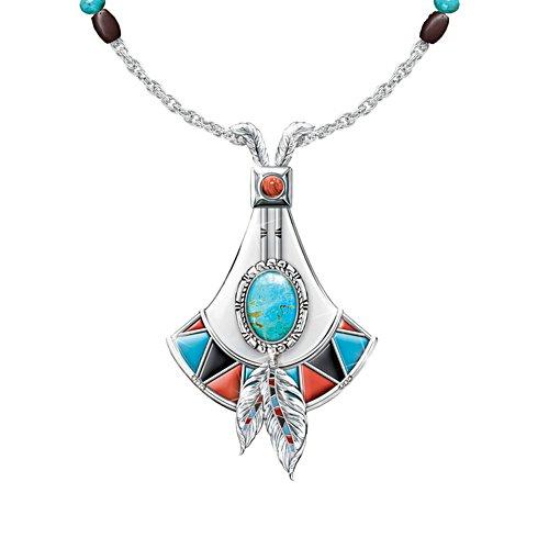 'Sacred Stone' Ladies' Turquoise Ladies' Pendant