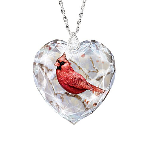 'Messenger From Heaven' Cardinal Topaz Ladies' Pendant
