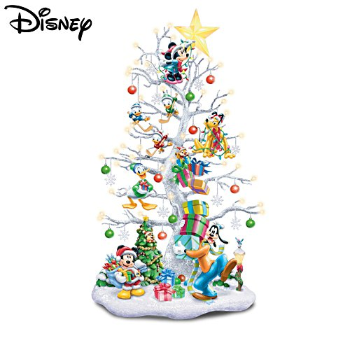 'Magic Of Disney' Illuminated Christmas Tree