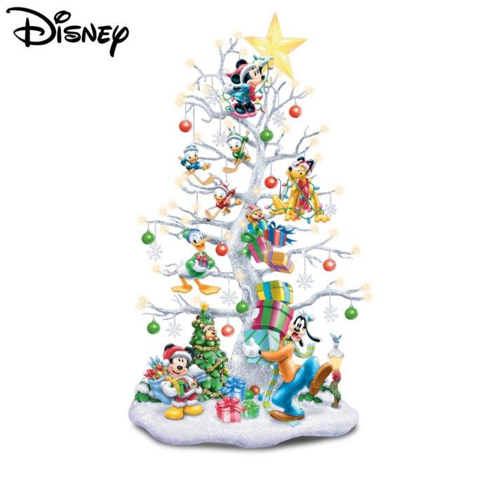 Disney Christmas Tree Topper Uk.Magic Of Disney Illuminated Christmas Tree