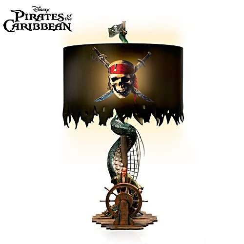 Disney 'Pirates Of The Caribbean' Table Lamp