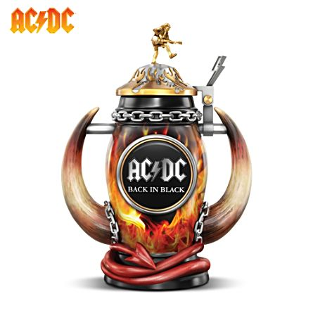 AC/DC 'Red Hot Rock' Back In Black Tribute Stein