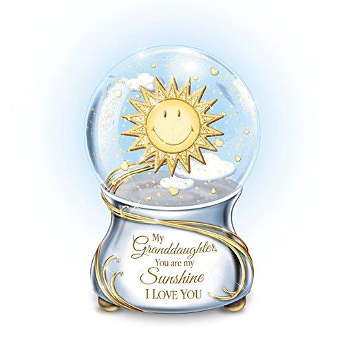'My Granddaughter, You Are My Sunshine' Musical Glitter Globe