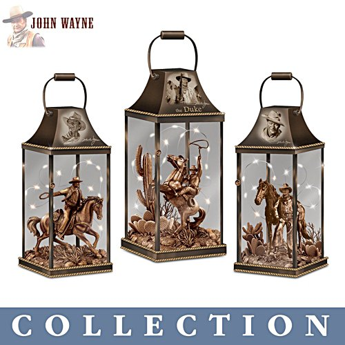 'John Wayne: Hollywood Luminary' Lantern Collection