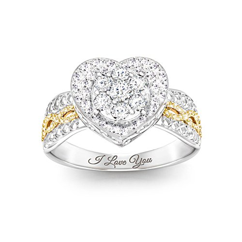 'All My Love' Diamond Ladies' Ring