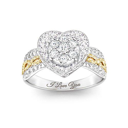'All My Love' Diamond Ladies' Ring