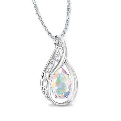 'Memories Of You' Topaz Ladies' Pendant