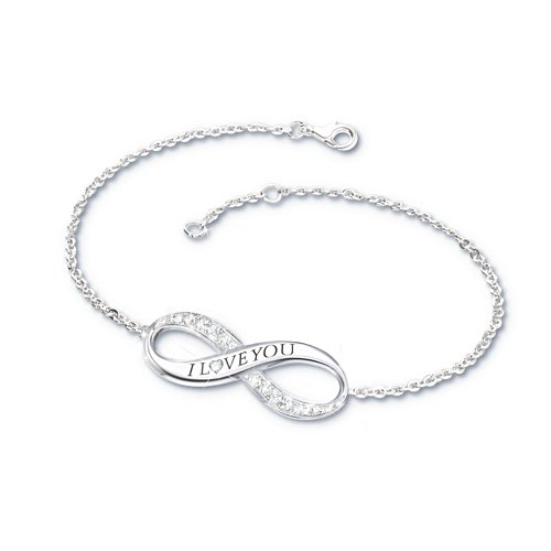 'Infinite Love' Daughter Diamond Bracelet