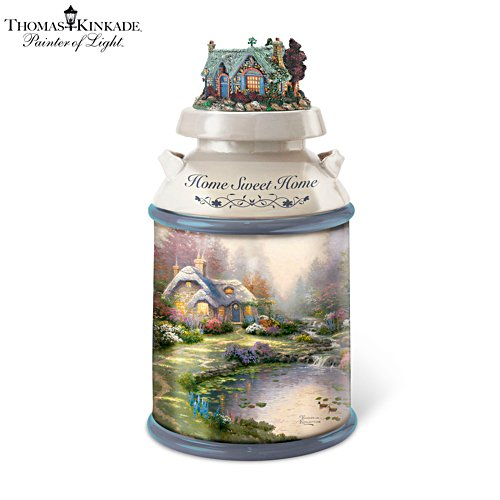 Thomas Kinkade 'Home Sweet Home' Cookie Jar