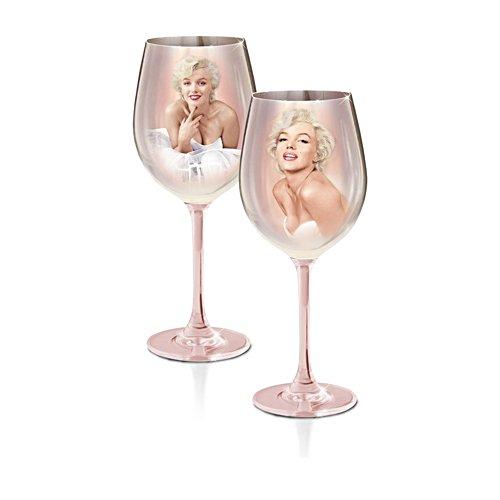 Marilyn Monroe™ 'Rare Beauty' Wine Glass Set