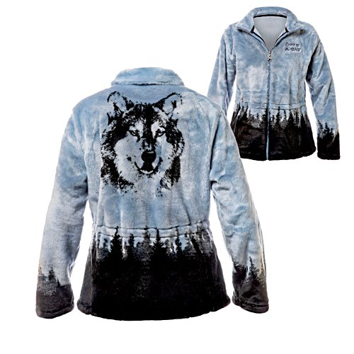 Al Agnew 'Wild Spirit' Wolf Ladies' Jacket