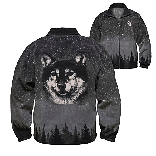 Al Agnew 'Wild Spirit' Wolf Men's Jacket