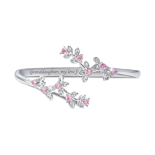 'Granddaughter, My Love Grows' Ladies' Bracelet