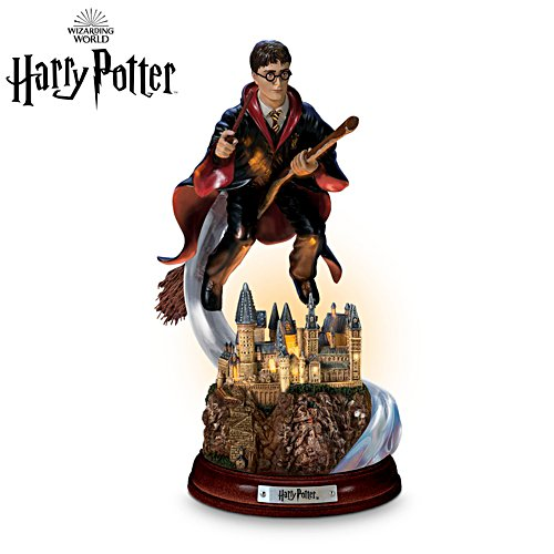 HARRY POTTER™ 'Harry's Magical Flight' Illuminated Sculpture
