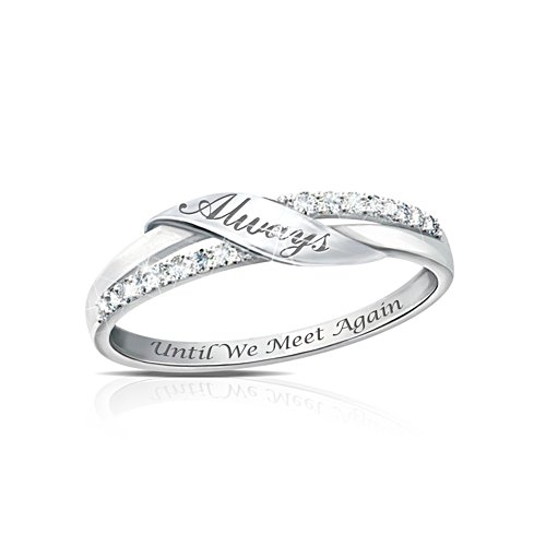 'Until We Meet Again' Diamond Ladies' Ring
