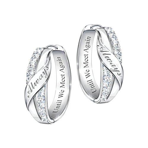 'Until We Meet Again' Diamond Earrings