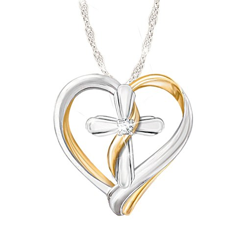 'Trust In The Lord' Daughter Diamond Pendant